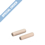 6 x 30mm Pine Dowels - SPECIAL ORDER ONLY